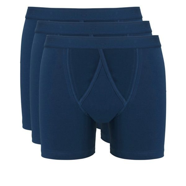 Een Dag Actie - Ten Cate Heren Boxershorts 3-Pack Denim