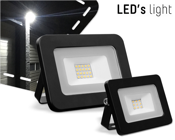 1 Day Fly - Compacte Led's Light 10W Of 20W Outdoor Straler