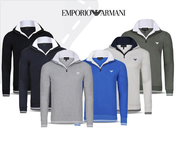 1 Day Fly - Emporio Armani Trui Met Rits