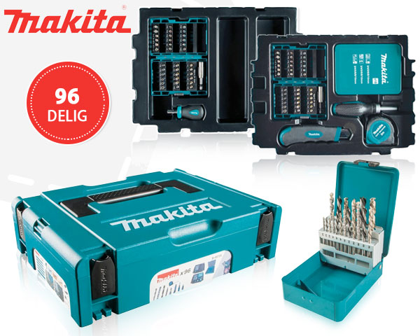1 Day Fly - Makita 96-​Delige Boor-​ En Bitset In Mbox