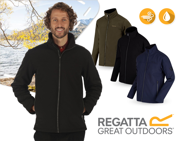 1 Day Fly - Regatta Castiel Softshell Winterjack