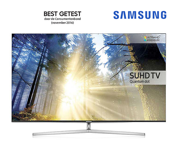 "1 Day Fly - Samsung 55"" Of 65"" 8-​​Series Quantum Dot Suhd Tv"
