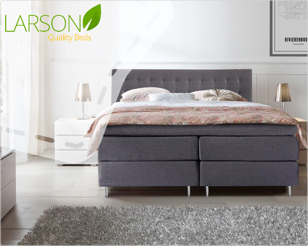 1 Day Fly - Zeer Complete Larson Oslo Boxspringset