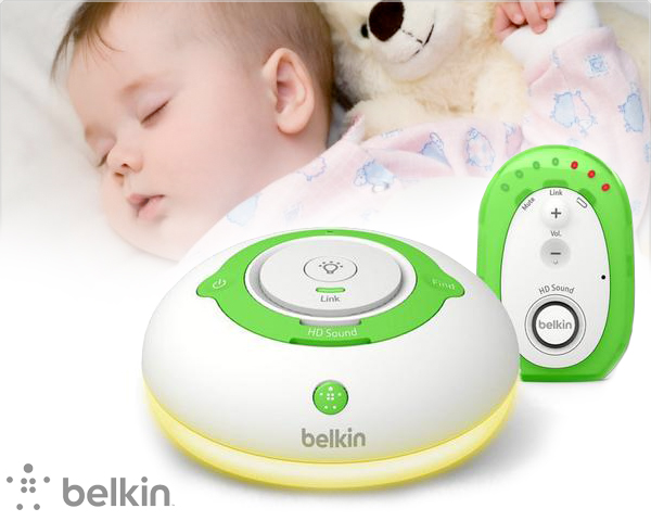 1 Day Fly Lady - Belkin Babyfoon Met Nachtlampje En Intercom