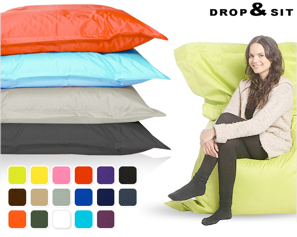 Binnen Buiten Zitzak.Drop Sit Lounge Zitzakken Voor Binnen En Buiten Dagelijkse
