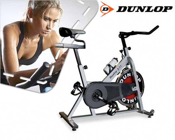 1 Day Fly Lady - Dunlop Spinning Bike