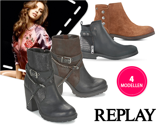 1 Day Fly Lady - Echt Leren Replay Boots