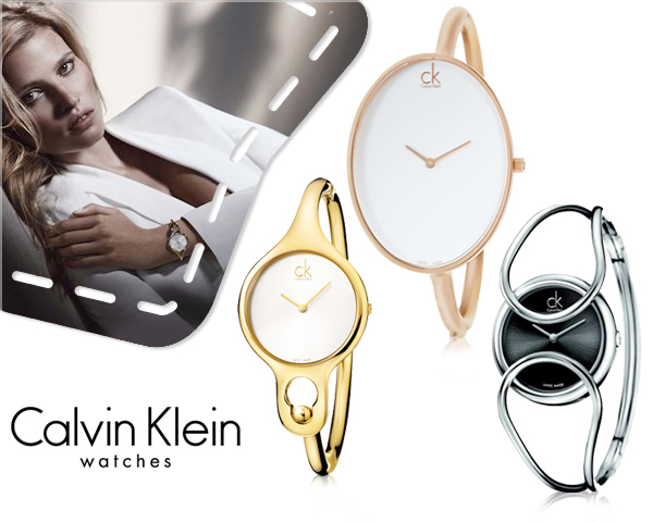 1 Day Fly Lady - Elegante Calvin Klein Dameshorloges