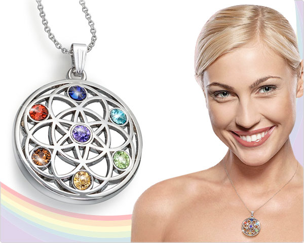 1 Day Fly Lady - Elegante Chakra Collier