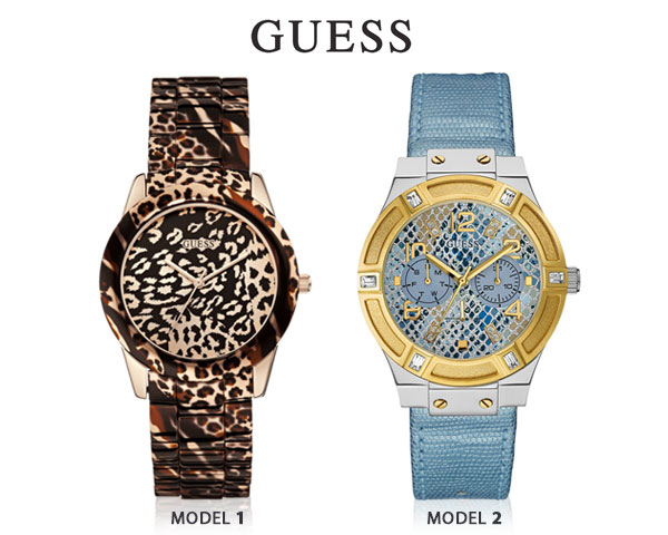 1 Day Fly Lady - Exclusieve Guess Dameshorloges