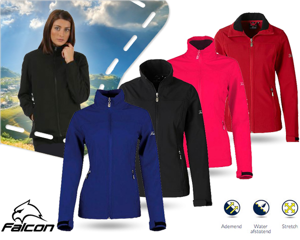 1 Day Fly Lady - Falcon Hewitt Softshell Jack