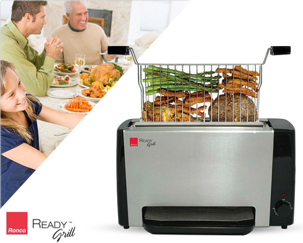 1 Day Fly Lady - Handige Ronco Ready Grill