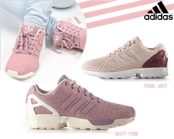 1 Day Fly Lady - Hippe Adidas Zx Flux Sneakers