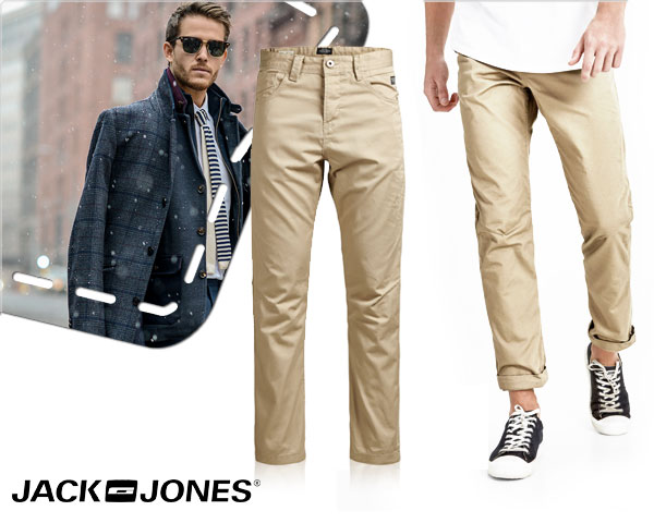 1 Day Fly Lady - Jack&Jones Stan Isac Chino