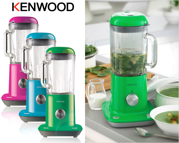 1 Day Fly Lady - Kenwood Kmix 800 Watt Blender Met Ijscrusher