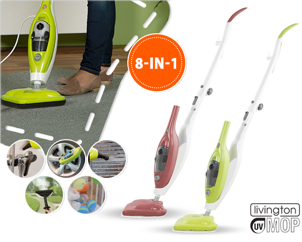 1 Day Fly Lady - Livington Uv Mop Steam Cleaner