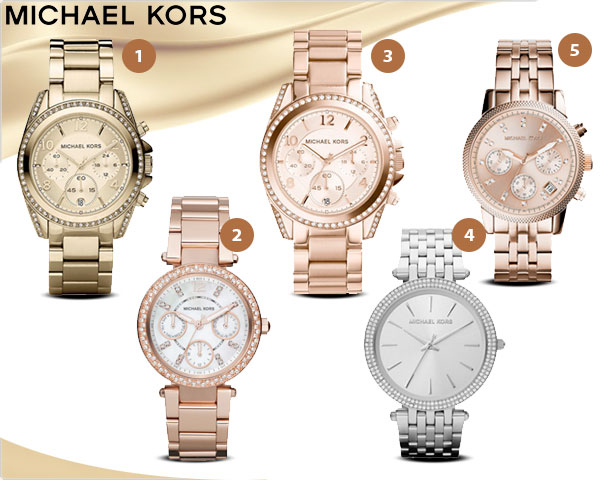 1 Day Fly Lady - Michael Kors Dameshorloges