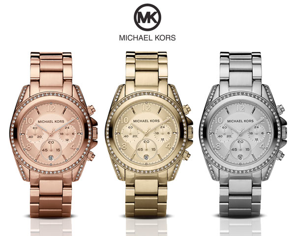 1 Day Fly Lady - Michael Kors Horloge In 3 Kleuren