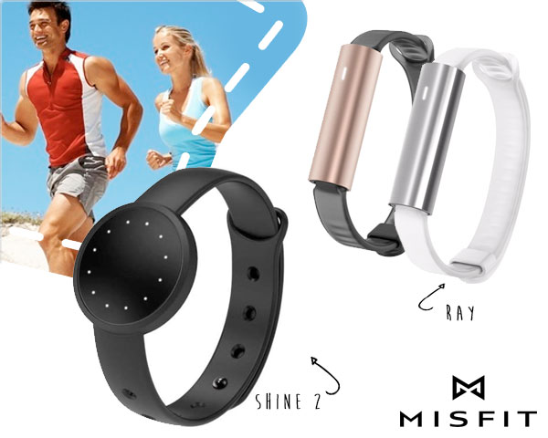1 Day Fly Lady - Misfit Activity Tracker Met Strak Design
