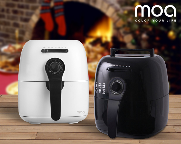 1 Day Fly Lady - Moa Design Airfryer: Gezond Frituren