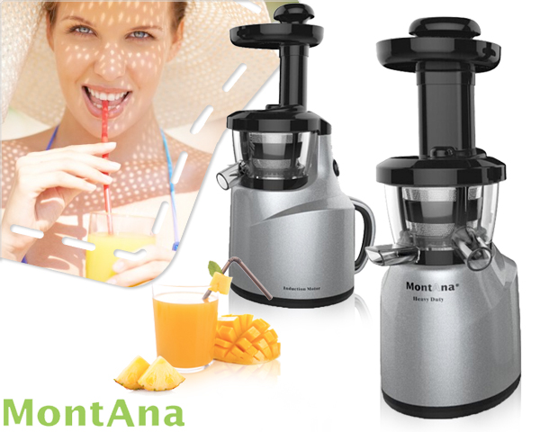 1 Day Fly Lady - Montana Slowjuicer Met Inductie Motor