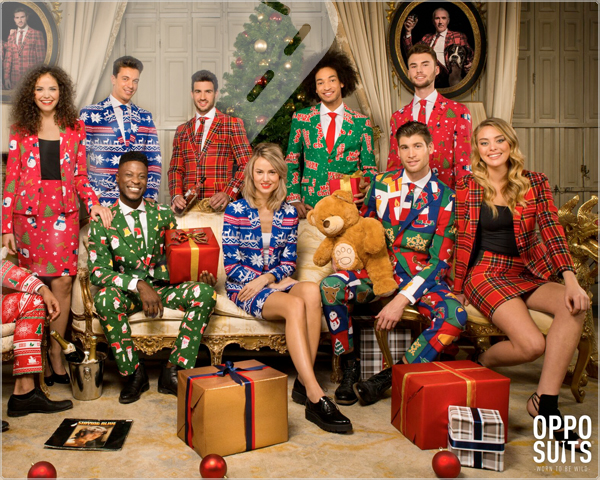 1 Day Fly Lady - Opposuits Kerstspecial Herenpak