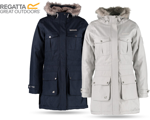 1 Day Fly Lady - Regatta Winterjas In Twee Kleuren