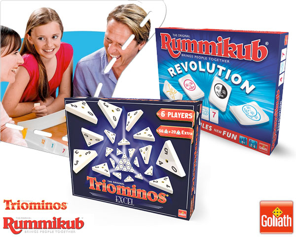 1 Day Fly Lady - Rummikub Revolution & Triominos Excel