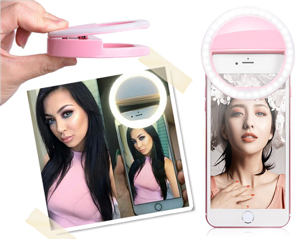 1 Day Fly Lady - Selfie Ring Lamp Voor De Perfecte Selfie