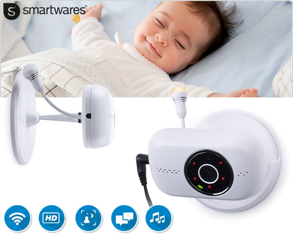 1 Day Fly Lady - Smartwares Ip Hd Baby Monitor