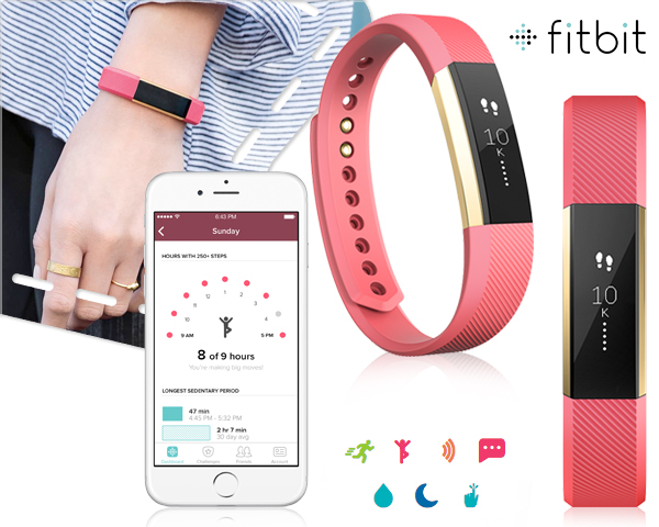 1 Day Fly Lady - Special Edition: Fitbit Alta Fitness Tracker