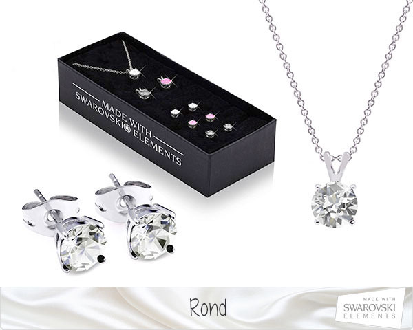 1 Day Fly Lady - Swarovski Elements Ketting En Oorbellen Sets