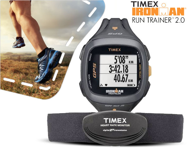 1 Day Fly Lady - Timex Ironman Run Trainer 2.0 Horloge