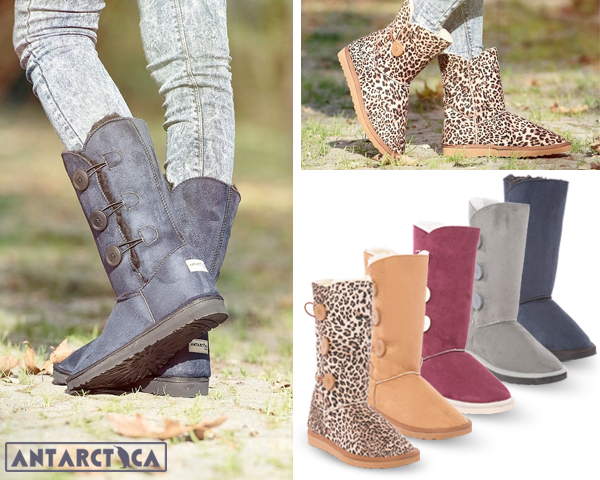 1 Day Fly Lady - Trendy En Warme Antarctica Boots