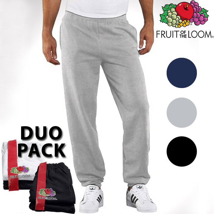 24 Deluxe - 2X Joggingbroek Van Fruit Of The Loom