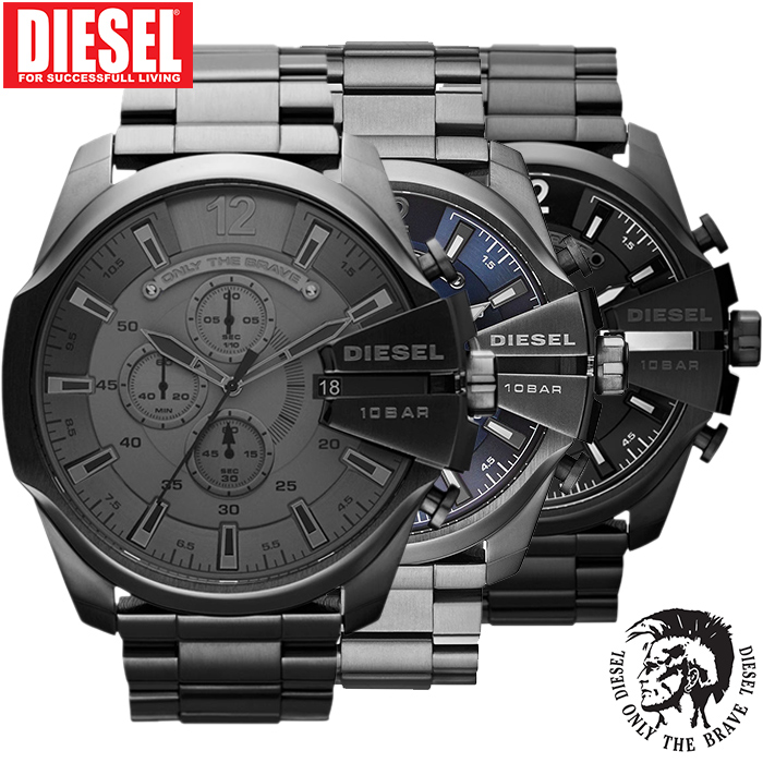 24 Deluxe - Diesel Mega Chief Horloges