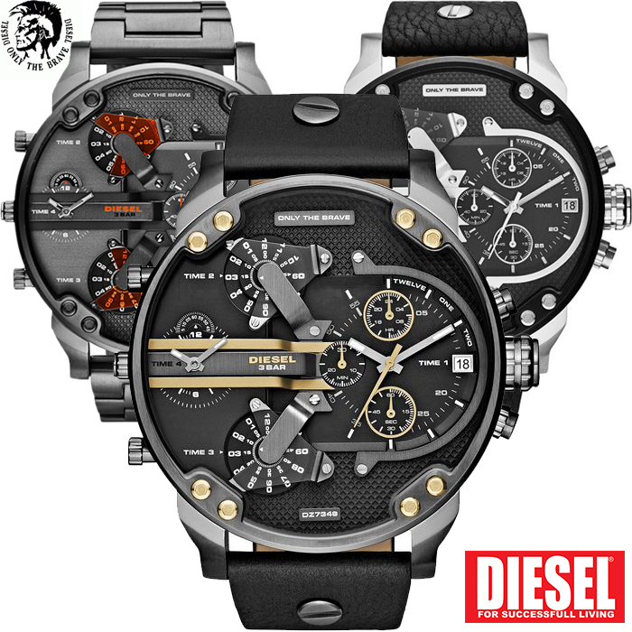 24 Deluxe - Diesel Mr Daddy 2.0 Horloges