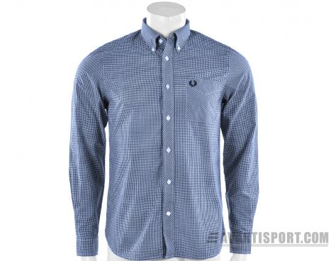 Avantisport - Fred Perry - Classic Gingham Long Sleeve Shirt - Overhemd