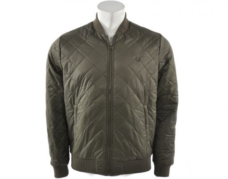 Avantisport - Fred Perry - Quilted Bomber Jacket - Bomber Fred Perry