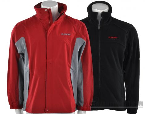 Avantisport - Hi-Tec - Jacket + Fleece Pullover - Outdoor Jas