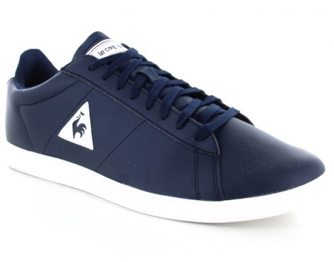 Avantisport - Le coq sportif - Courtset S Leather - Blauwe Sneakers