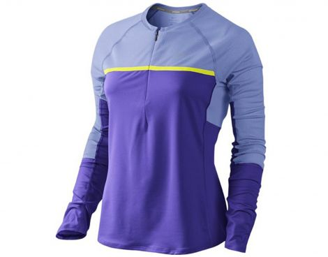 Avantisport - Nike - Sphere Dry Long Sleeve Half-Zip  - Running Shirts