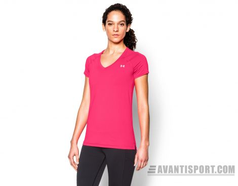 Avantisport - Under Armour - Heatgear Armour Short Sleeve - Dames Sportshirt