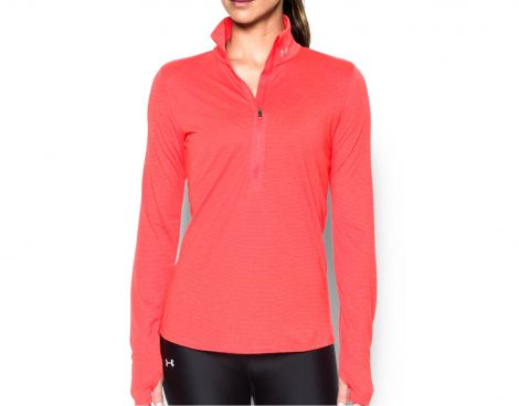 Avantisport - Under Armour - Threadborne Streaker Hlf Zp - Dames Longsleeve
