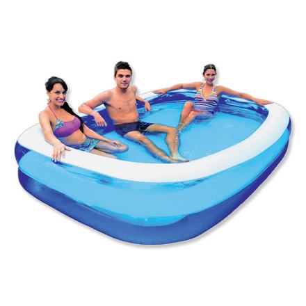 Zwembad rechthoekig dagelijkse koopjes en internet for Blokker zwembad