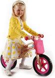Deze yipeeh houten loopfiets maakt ieder kind de blits. extra voordeel