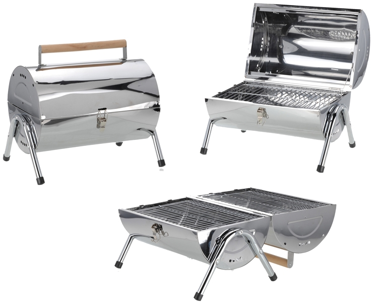 Buy This Today - Cilinder Barbecue met dubbel grilloppervlak