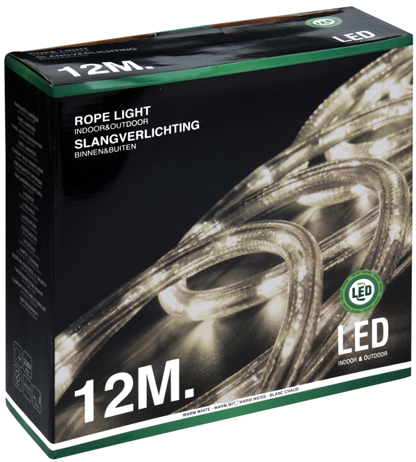 Buy This Today - LED lichtslang 12 meter warm wit