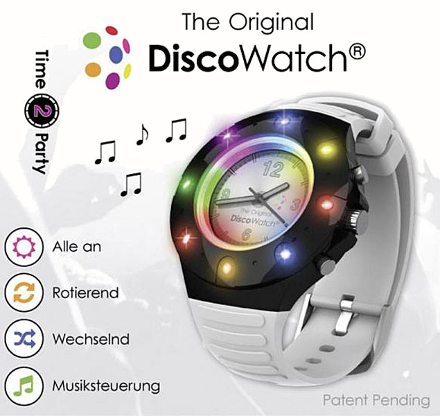 Buy This Today - PartyFunLights Disco Watch