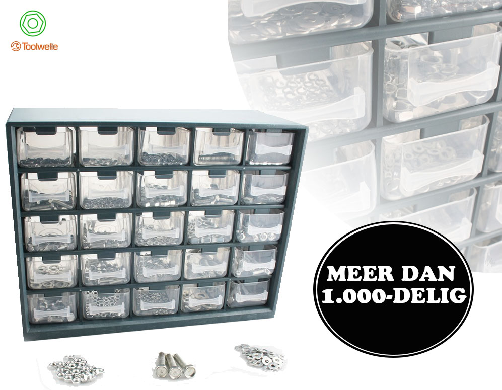 Click to Buy - 1000-delige Toolwelle IJzerwaren Organizer
